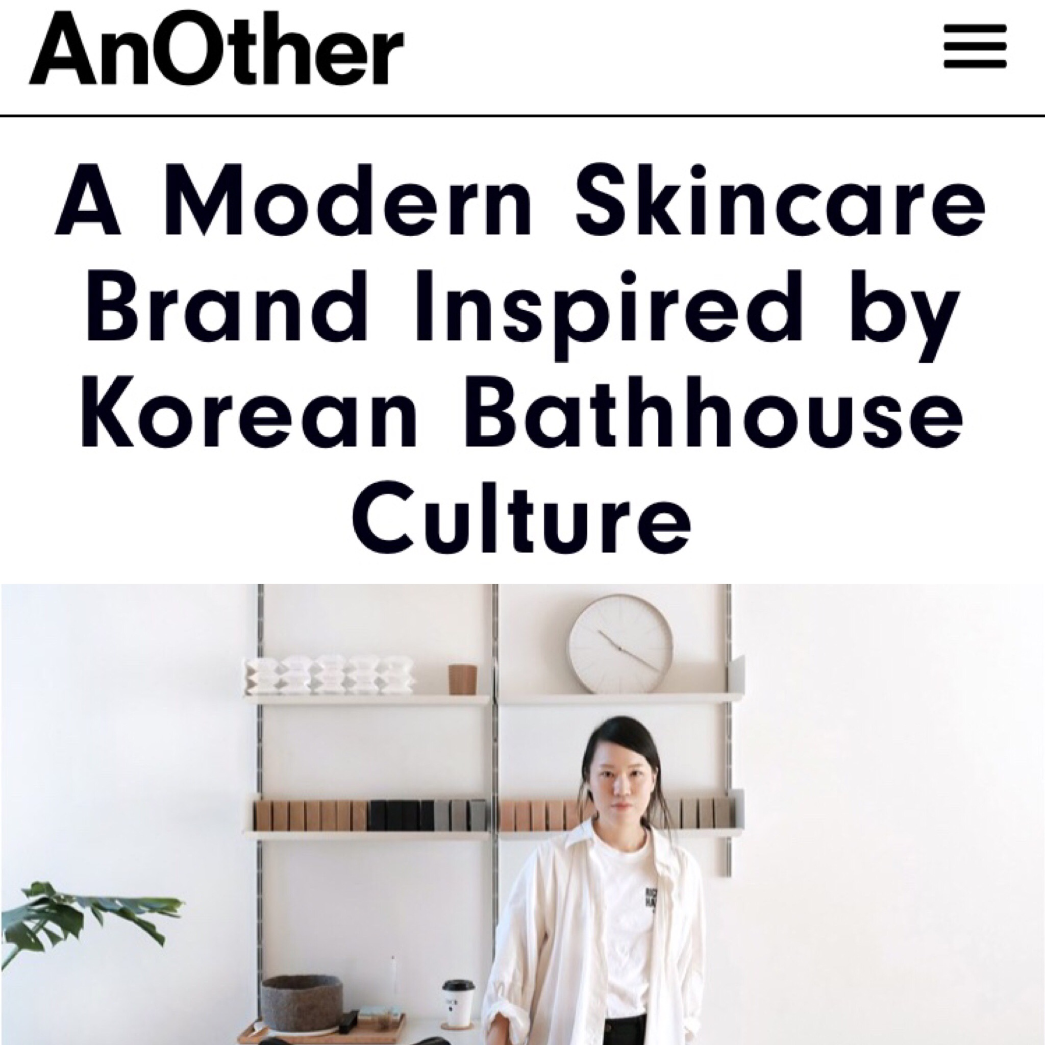 AnOther Magazine / AnOther Name to Know