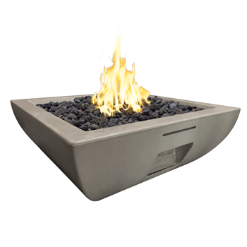 36″ Bordeaux Square Fire Bowl