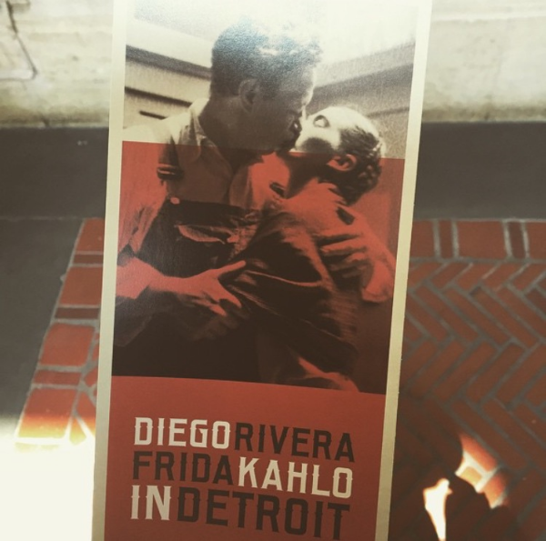Diego Rivera & Frida Kahlo exhibit at the Detroit Institute of Art.