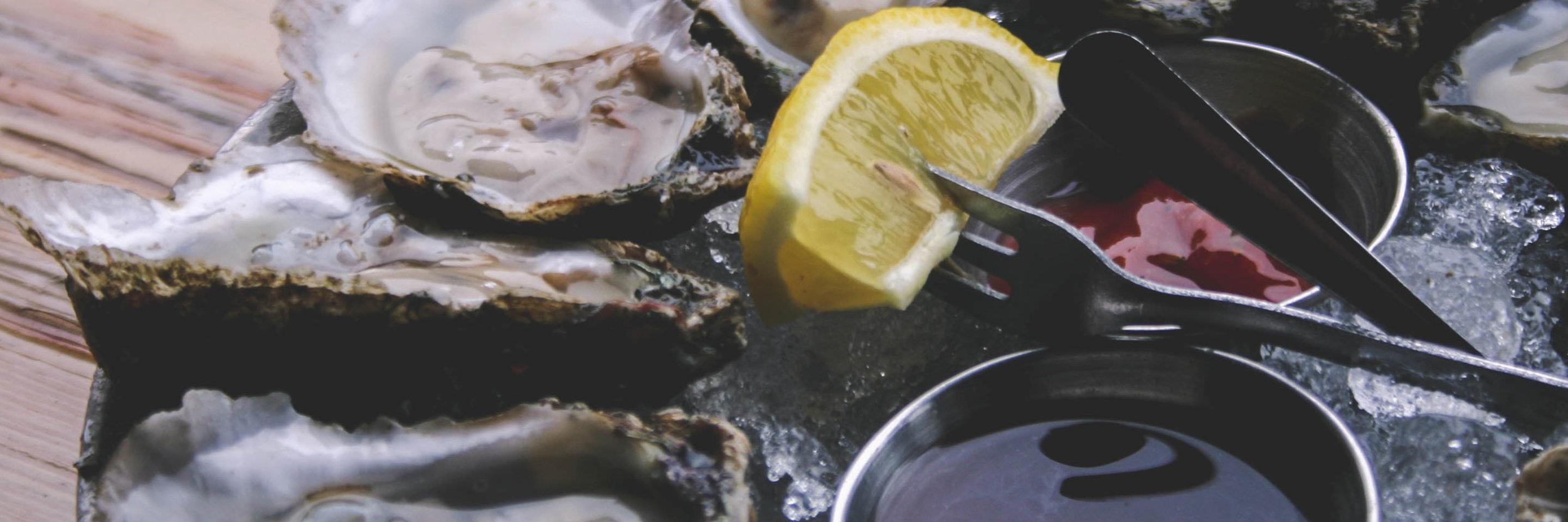 Raw Oysters from Merroir Tasting Room - Image Credit: VAfoodie