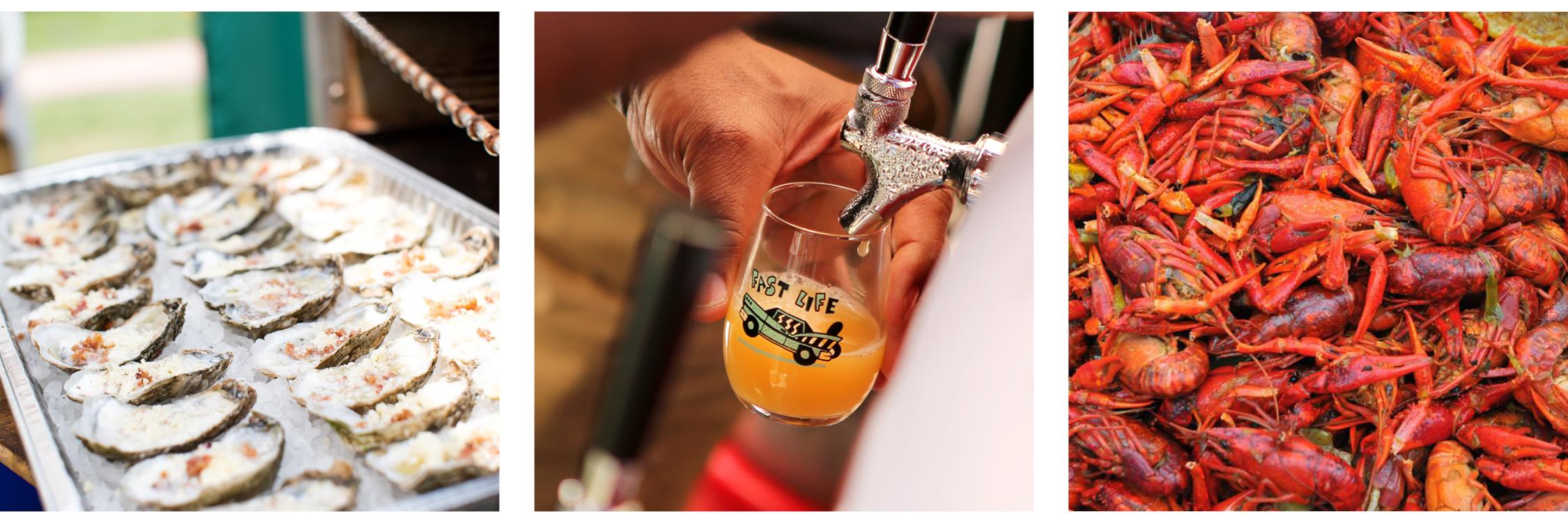 Images: Norfolk Festevents /  Juicy Brews Summer Craft Beer Invitational  / Bayou Boogaloo Music & Cajun Food Festival