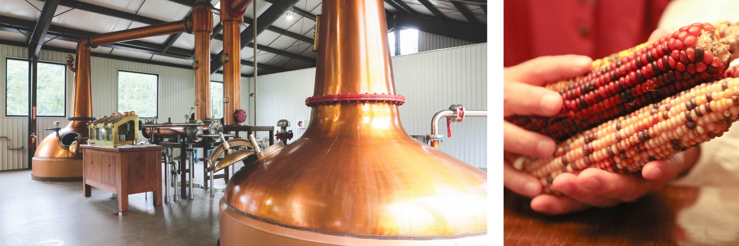 Images: Virginia Distilliery Co. - Jay Paul / Eight Shires Distillery - Dan Currier
