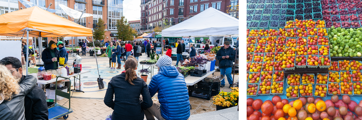 Images: Columbia Heights Farmers Market