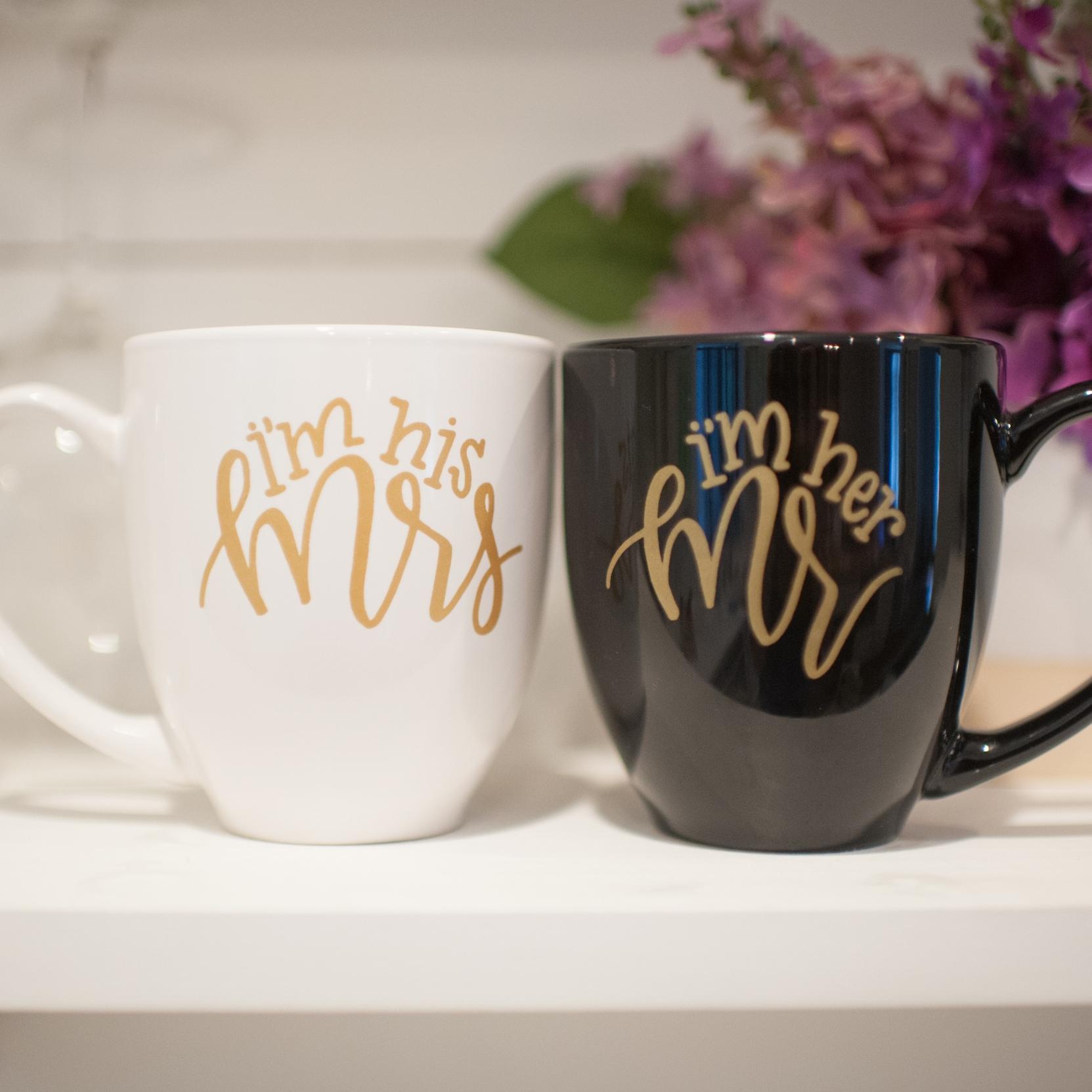 The Bride Box mug set