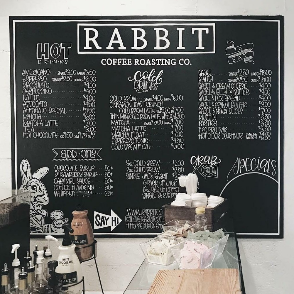 Rabbit Coffee Grandview Public West Palm Beach FL