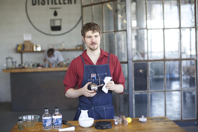 Highest Distilled Spirit in America, Industry City Distillery, Edible Brooklyn