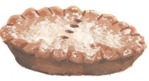 Christmas Mince Pie Edible