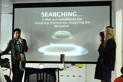 Presenting 'Searching...' at Audi: Interaction Futures [Paris, 2014]