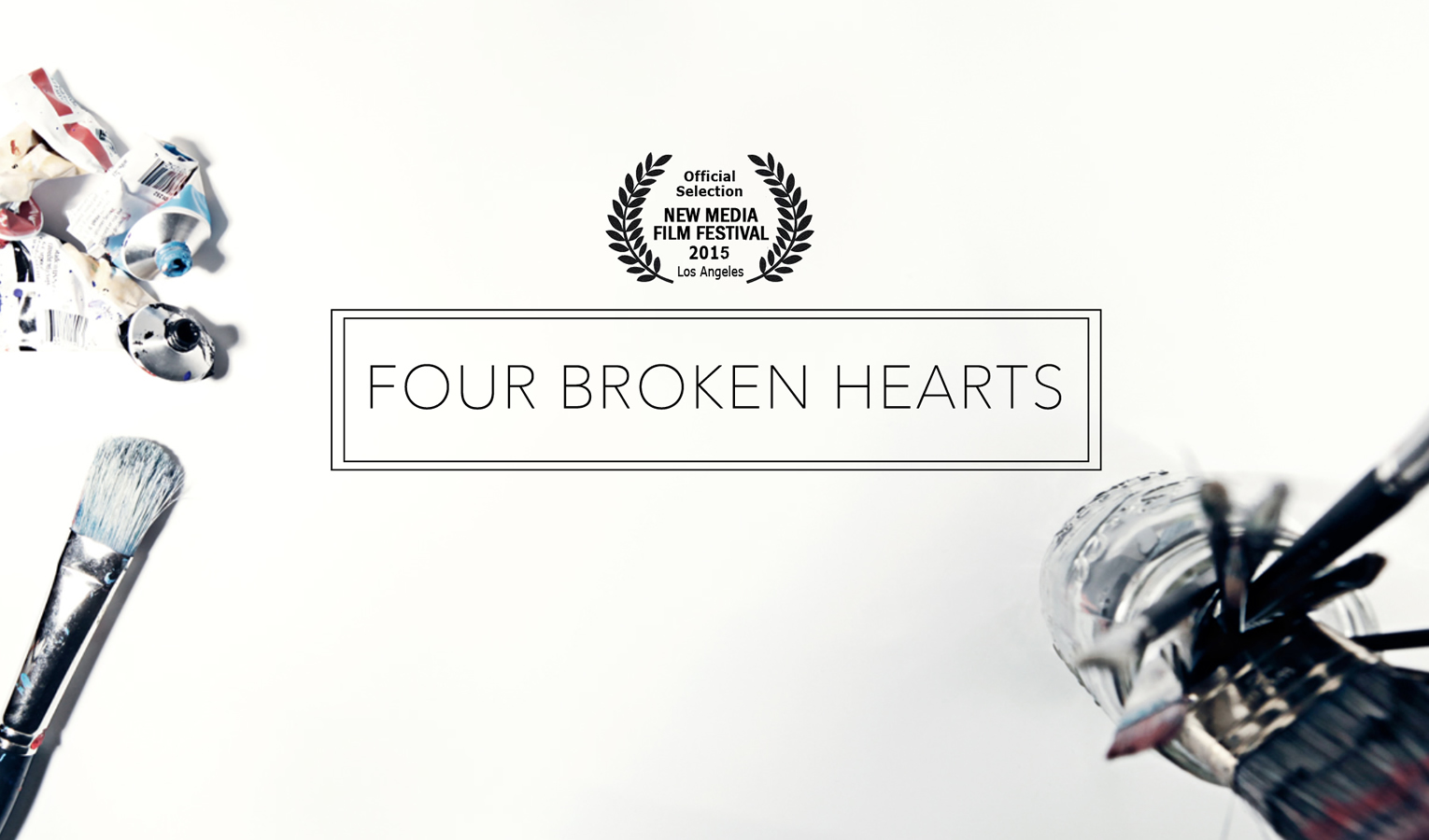 Four Broken Hearts officially premiered at the New Media Film Festival in Los Angeles in June 2015.
