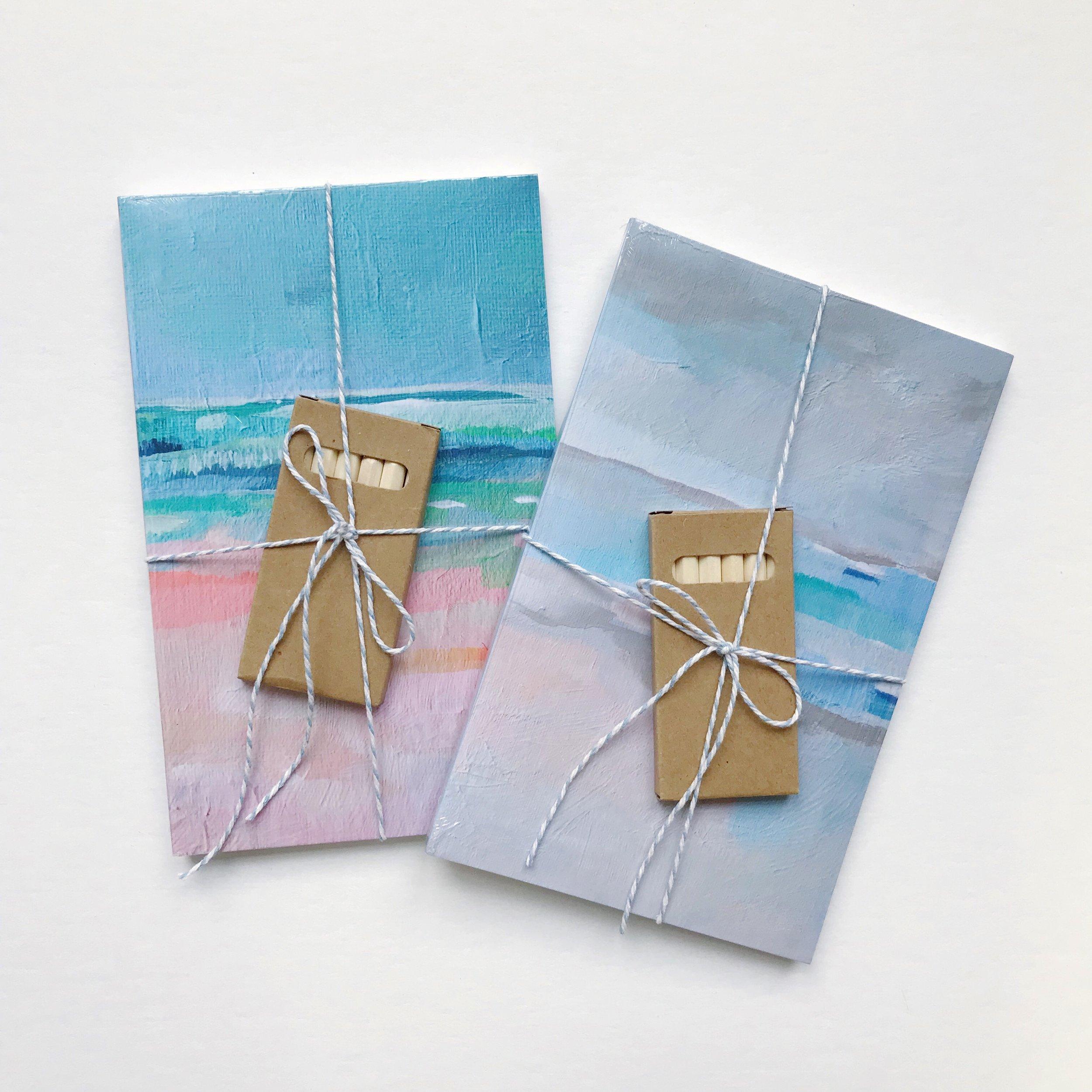Little Artist sketchbook set - Shop Denik and Art by Megan
