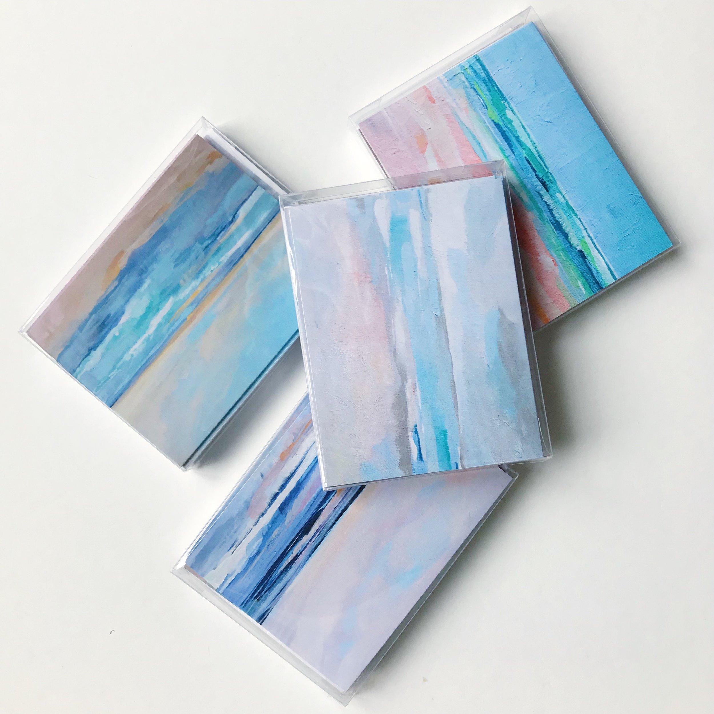 Notecards by Megan Elizabeth of Art by Megan