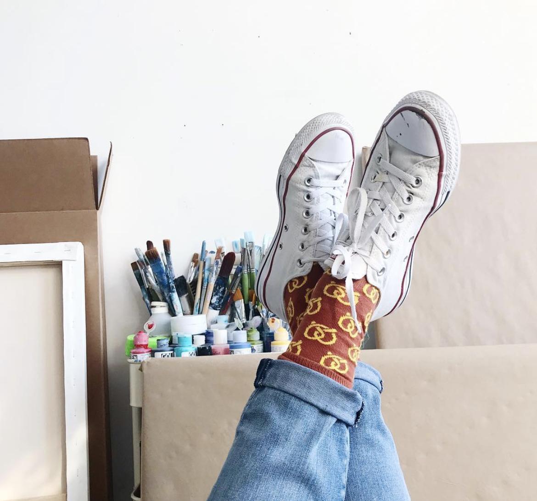 Art by Megan X  Happy Socks