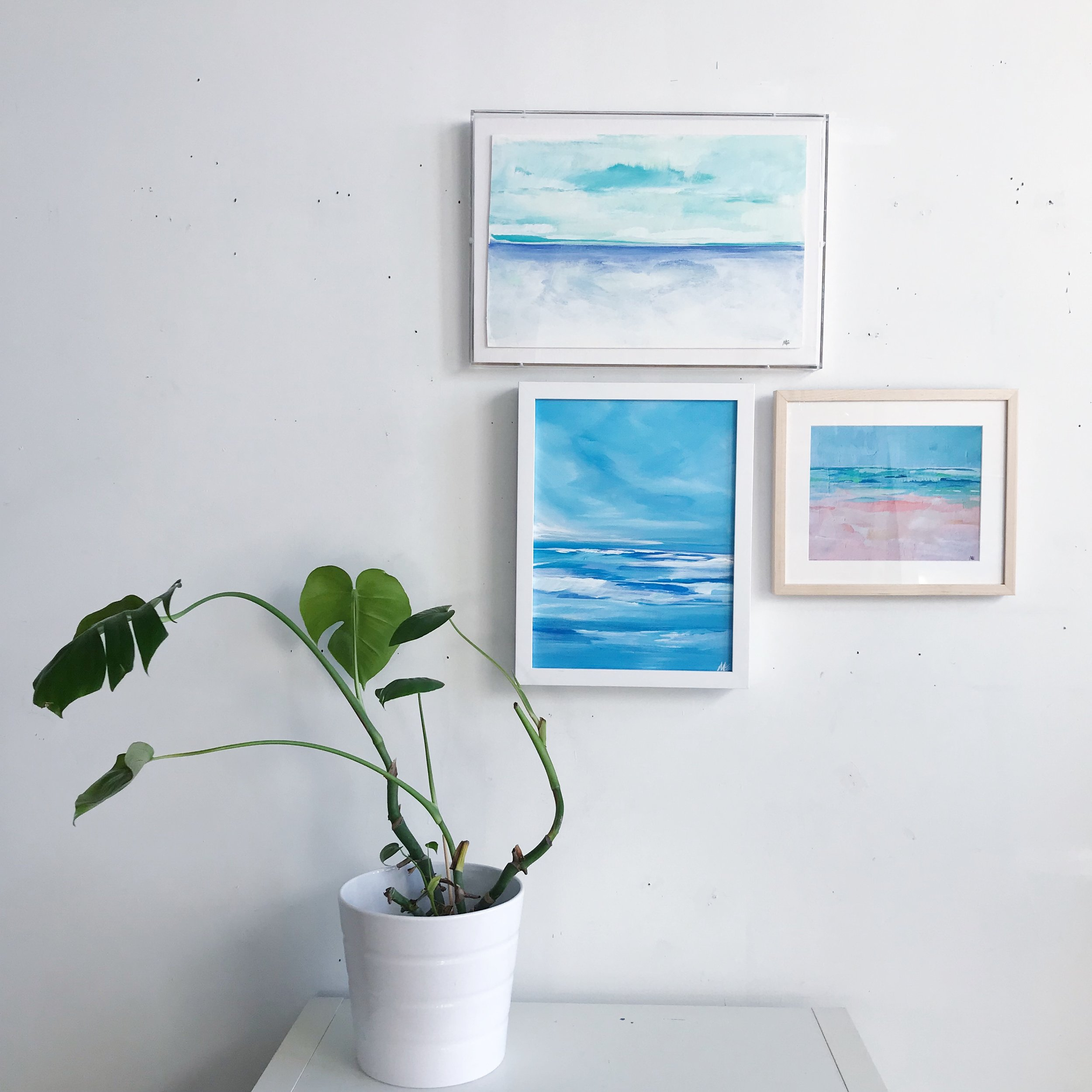 Art by Megan and Simply Framed