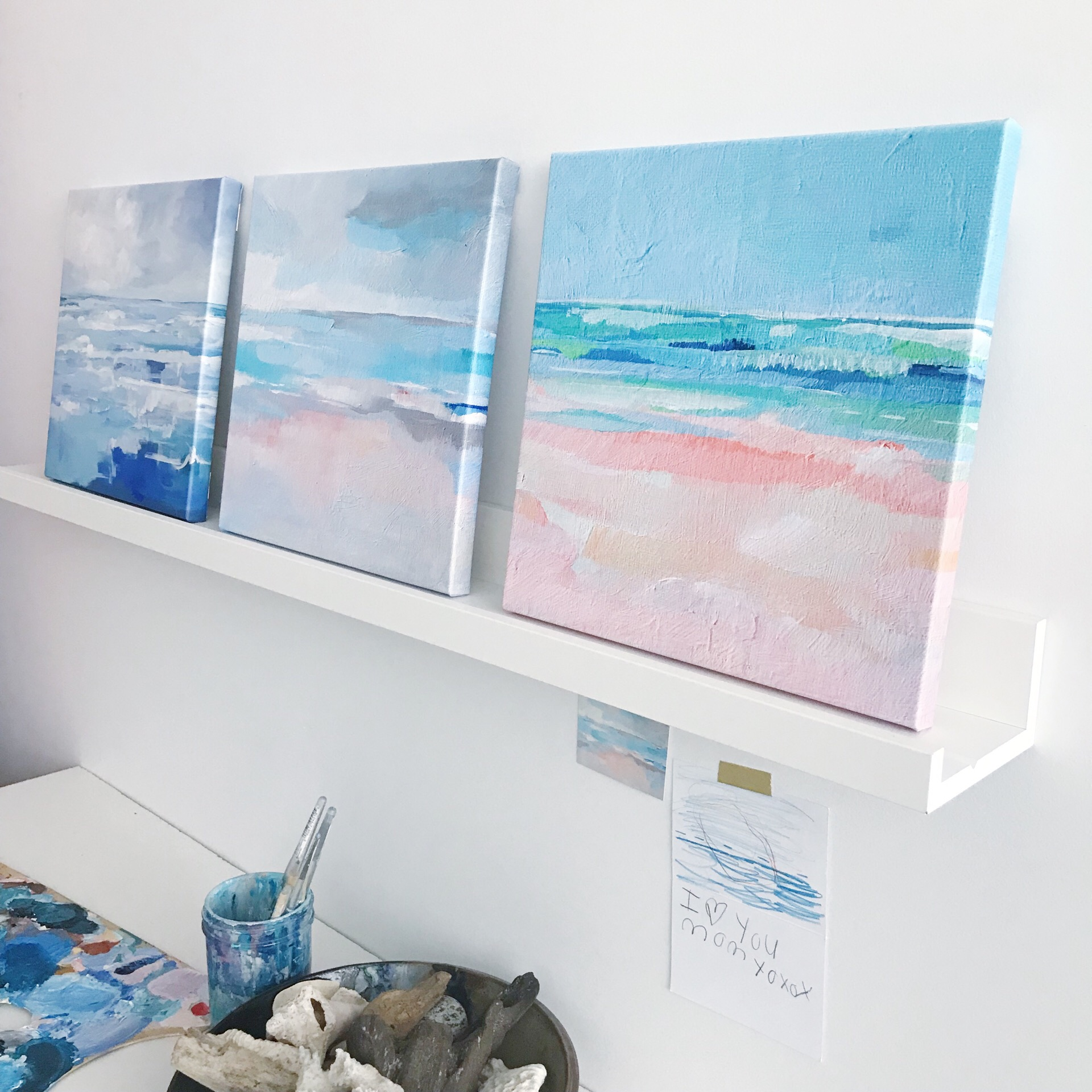 My favorite corner of my studio. :)