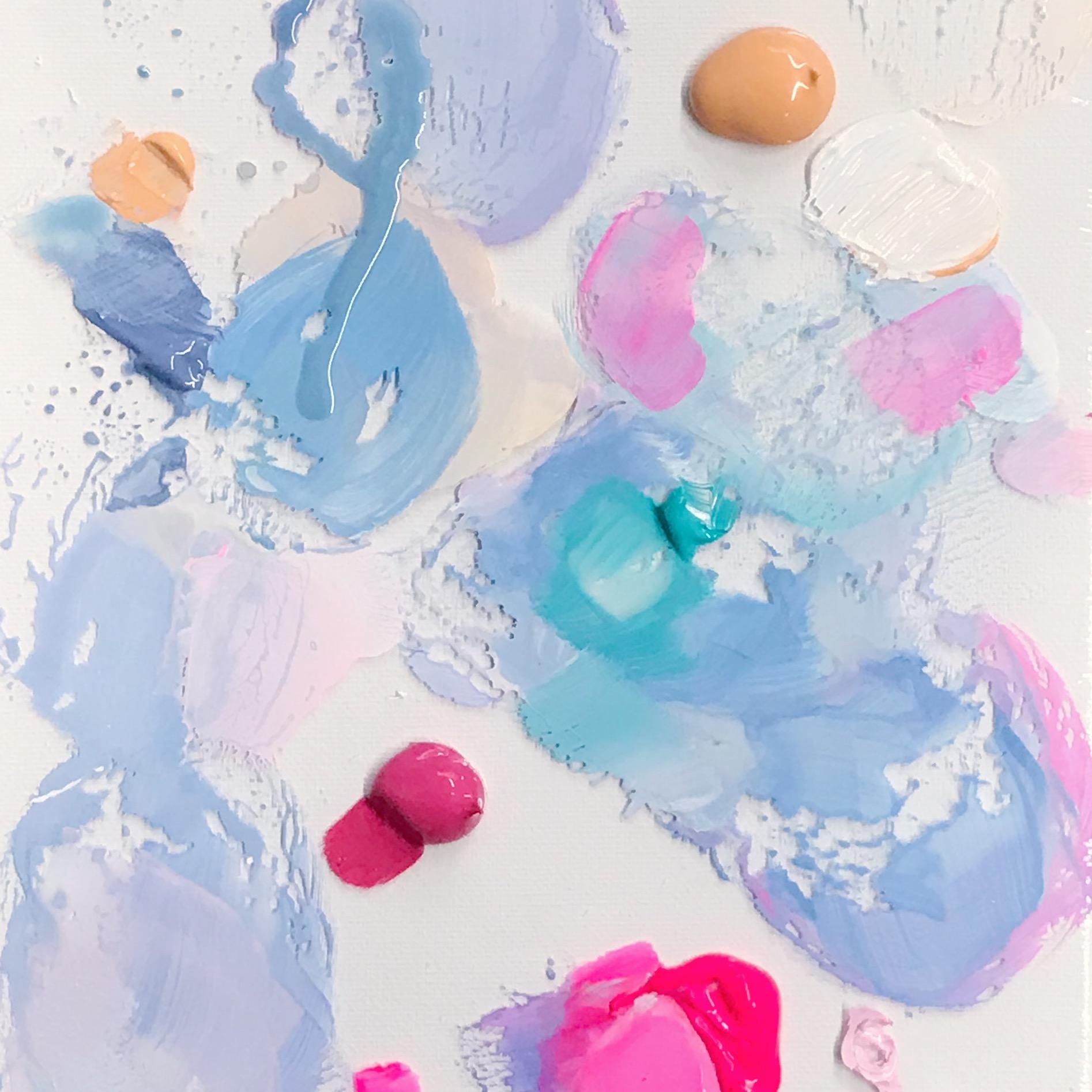 Paint palette by Megan Elizabeth of Art by Megan
