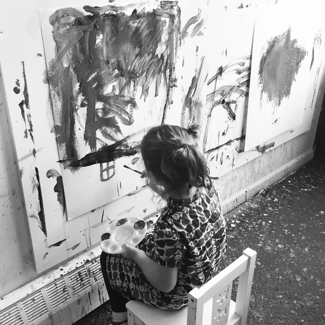 Little Artist by Megan Elizabeth of Art by Megan