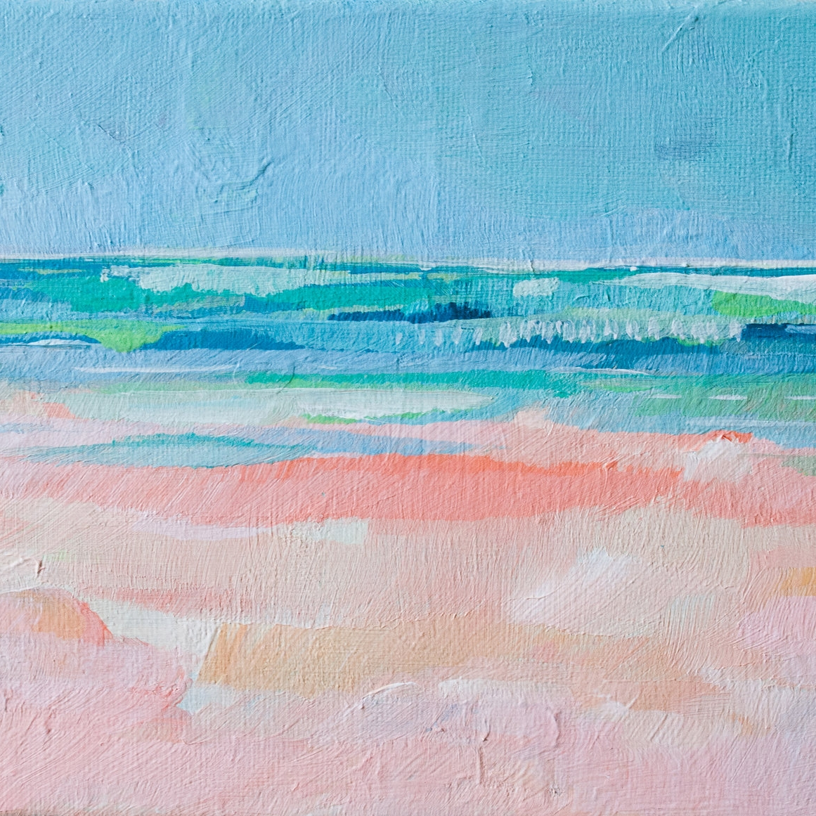 """Bermuda"" 8x10 print - Art by Megan"