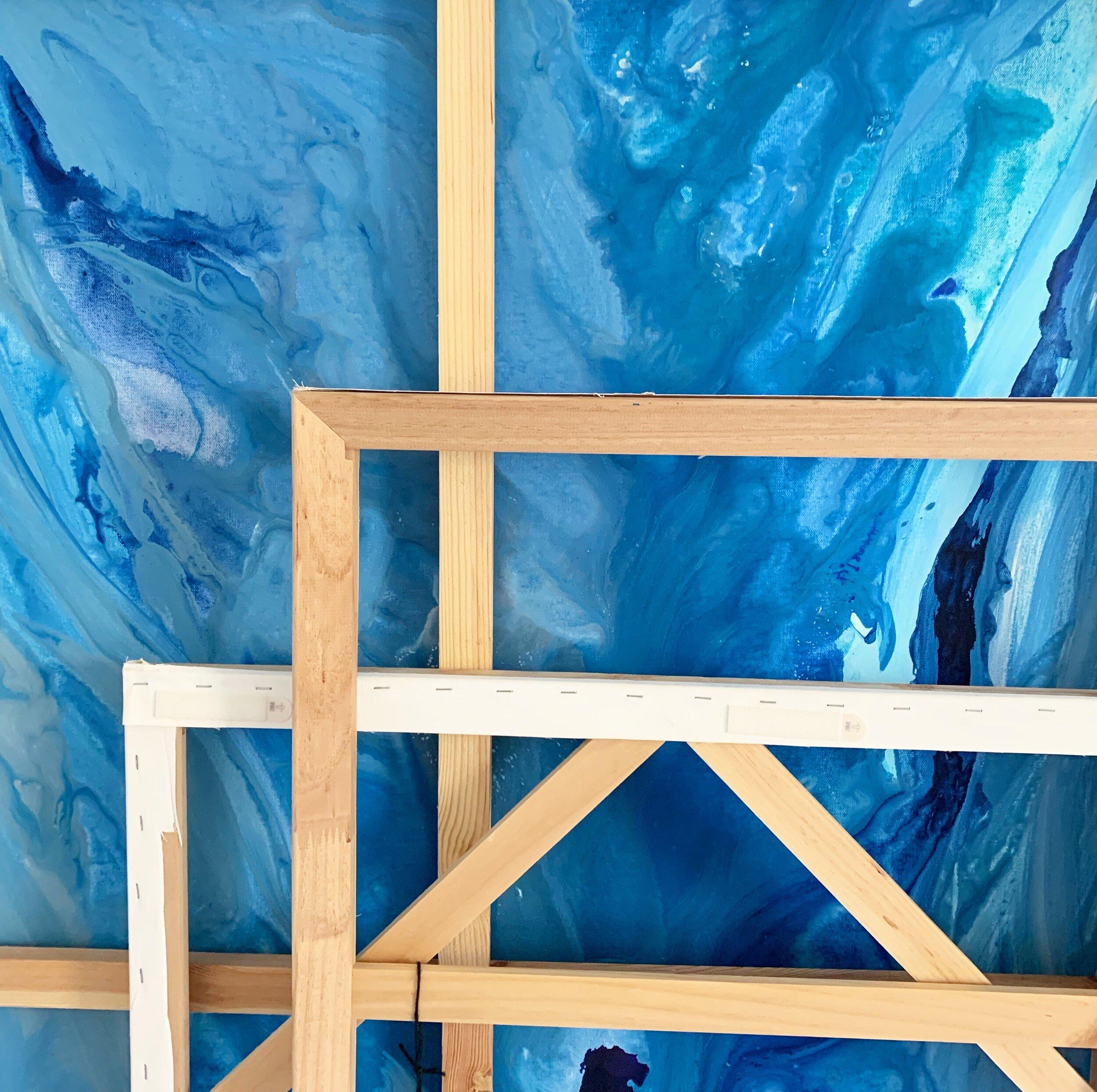 Art by Megan studio scenes