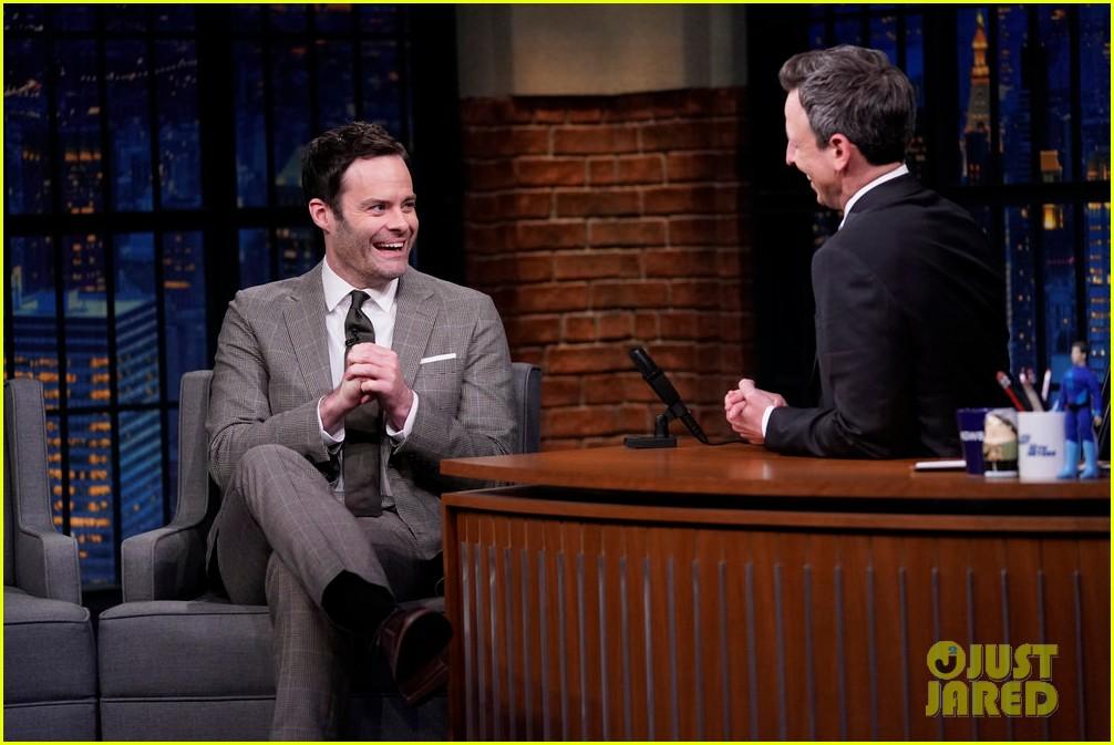 BILL HADER // Tonight Show with Seth Meyers