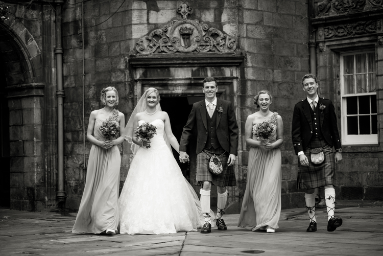 George Heriots and The George Hotel Wedding Photography by Marc Millar Wedding Photography