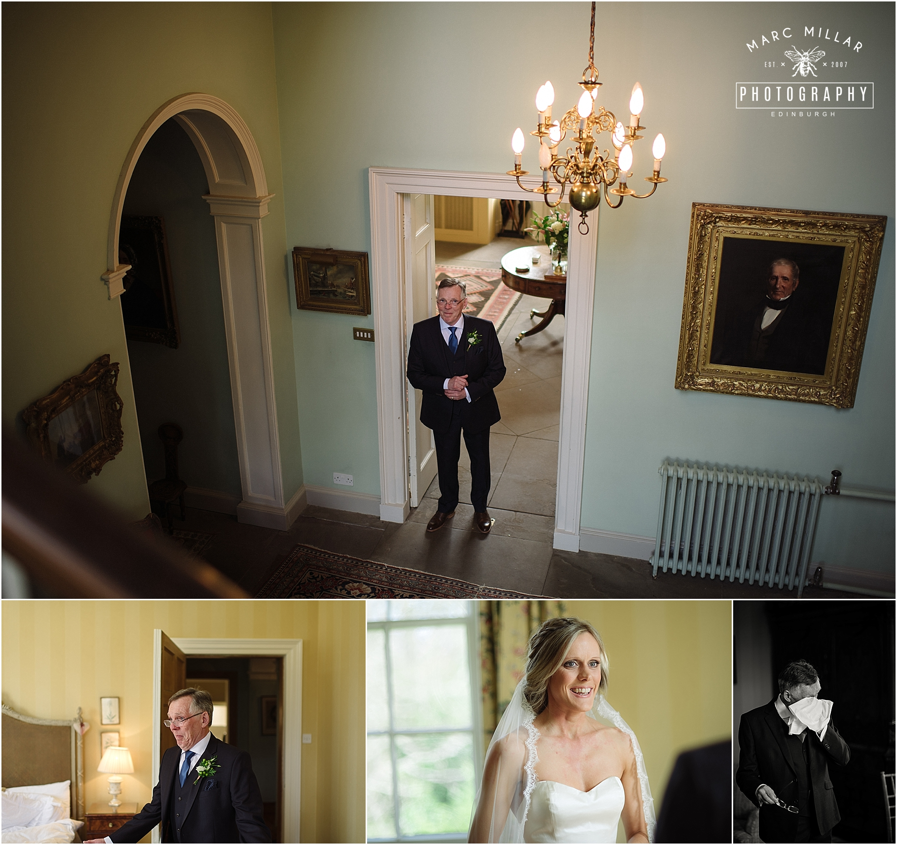 the byre at inchyra Wedding Shoot  by Marc Millar Photography