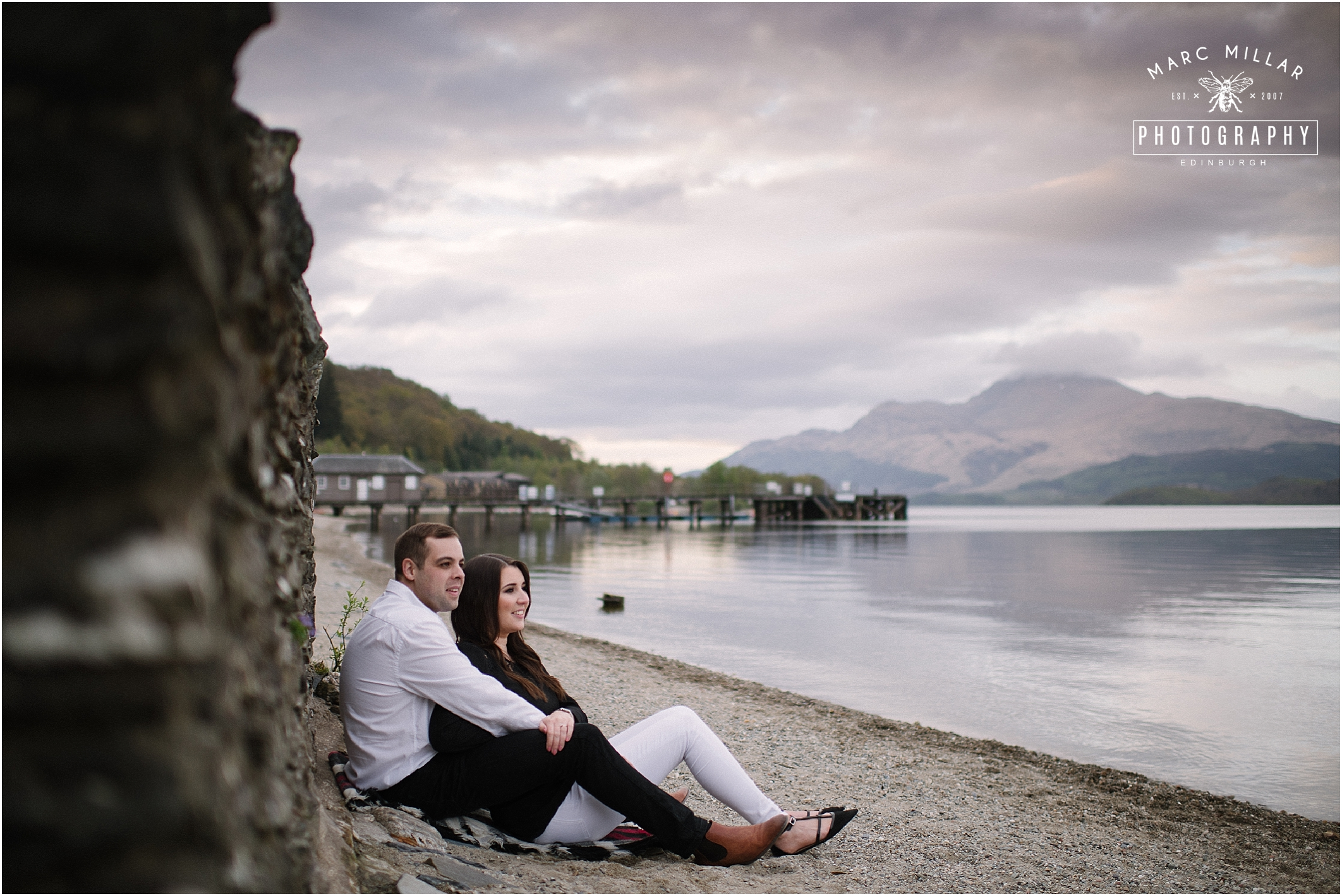 Pre Wedding shoot by Marc Millar Photography