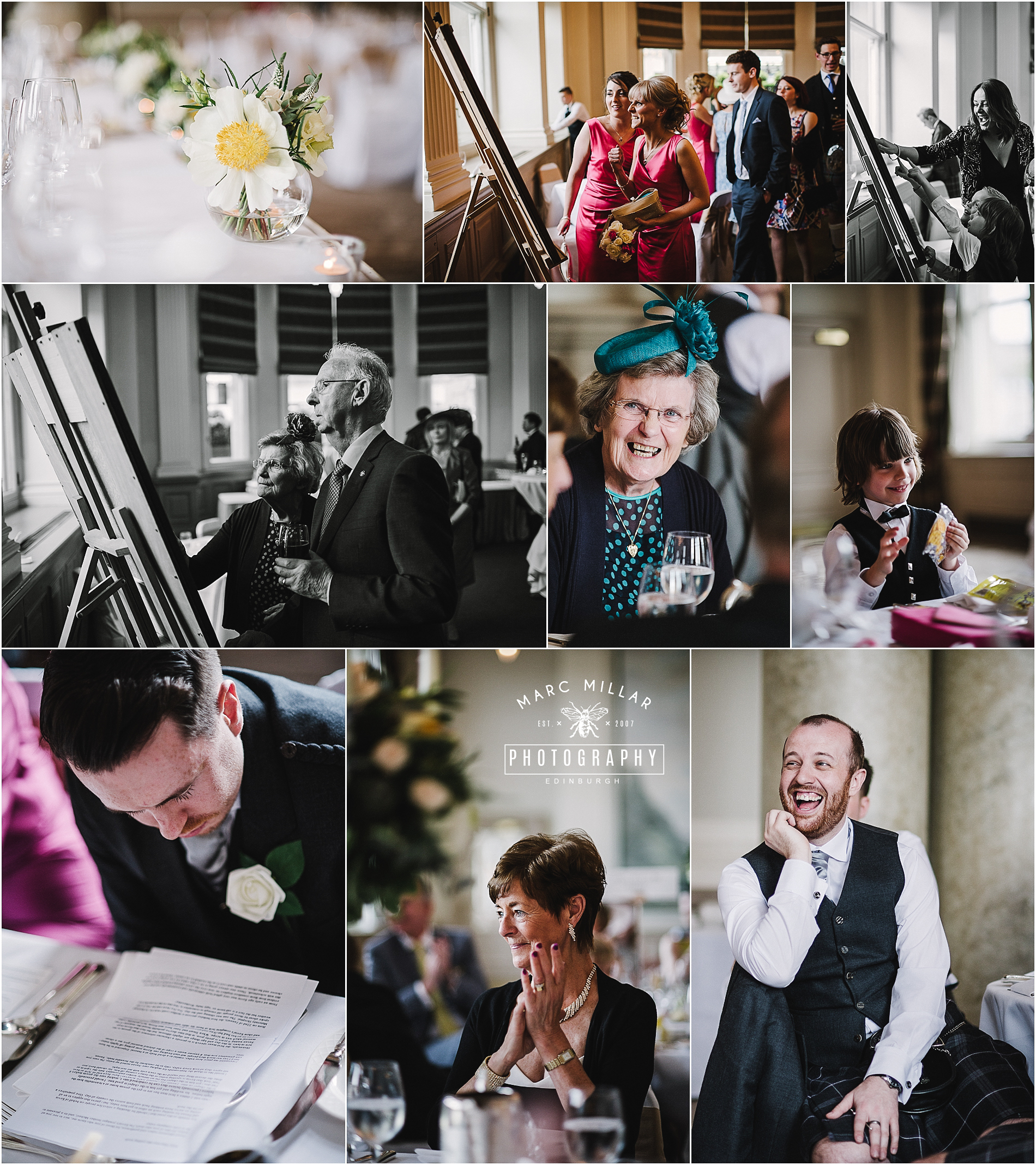 The Balmoral Wedding by Marc Millar Photography