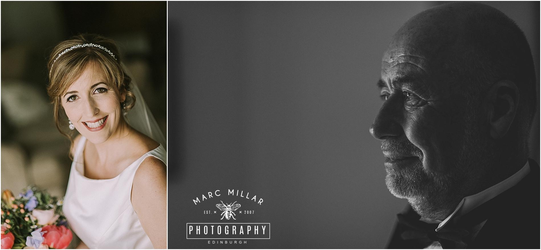 Roxburghe Hotel  Wedding Shoot  by Marc Millar Photography