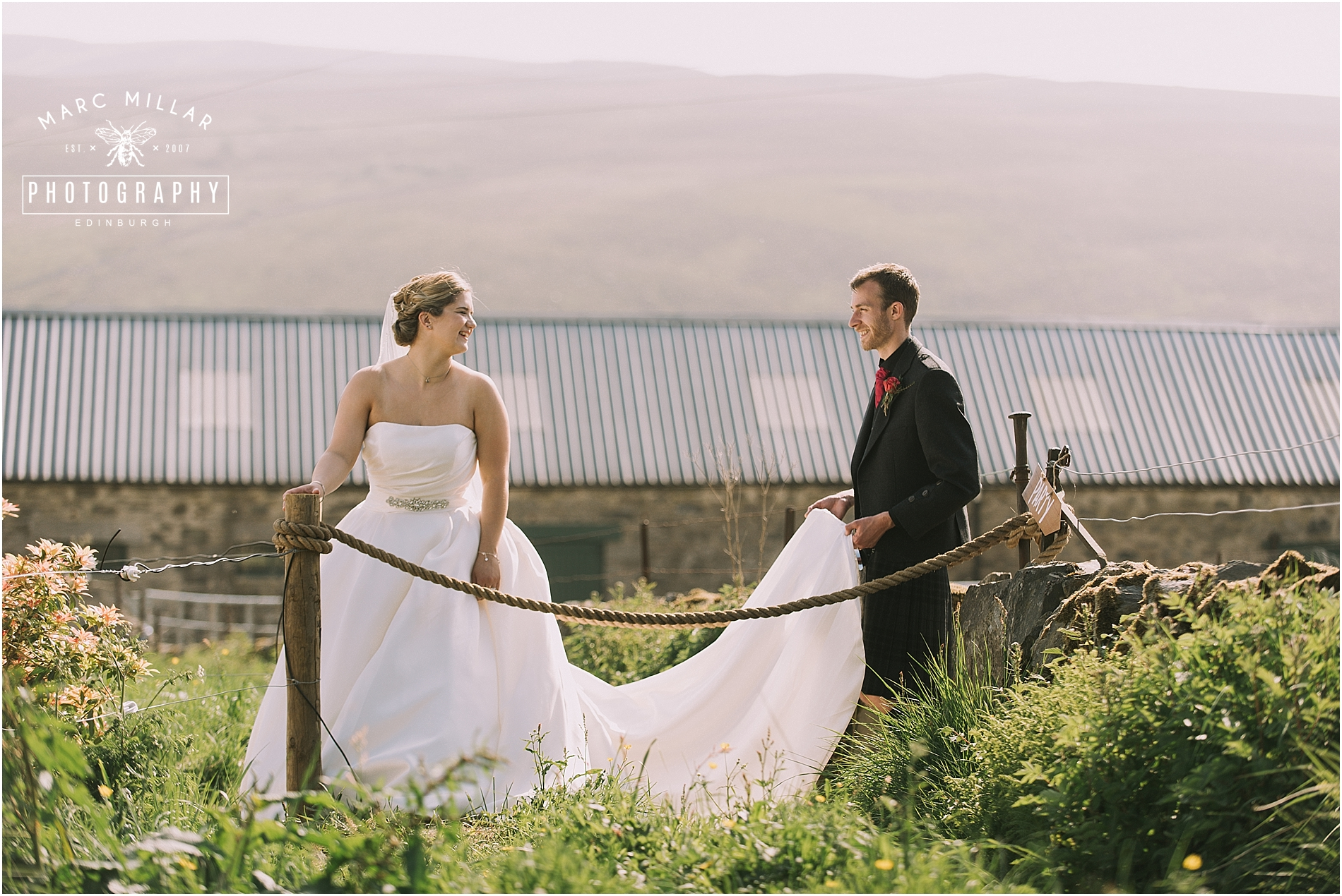 Home Farm Wedding Photography by Marc Millar Wedding Photography