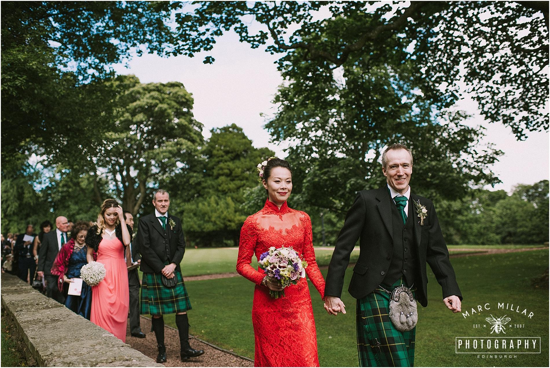 Prestonfield House Wedding Shoot by Marc Millar Photography