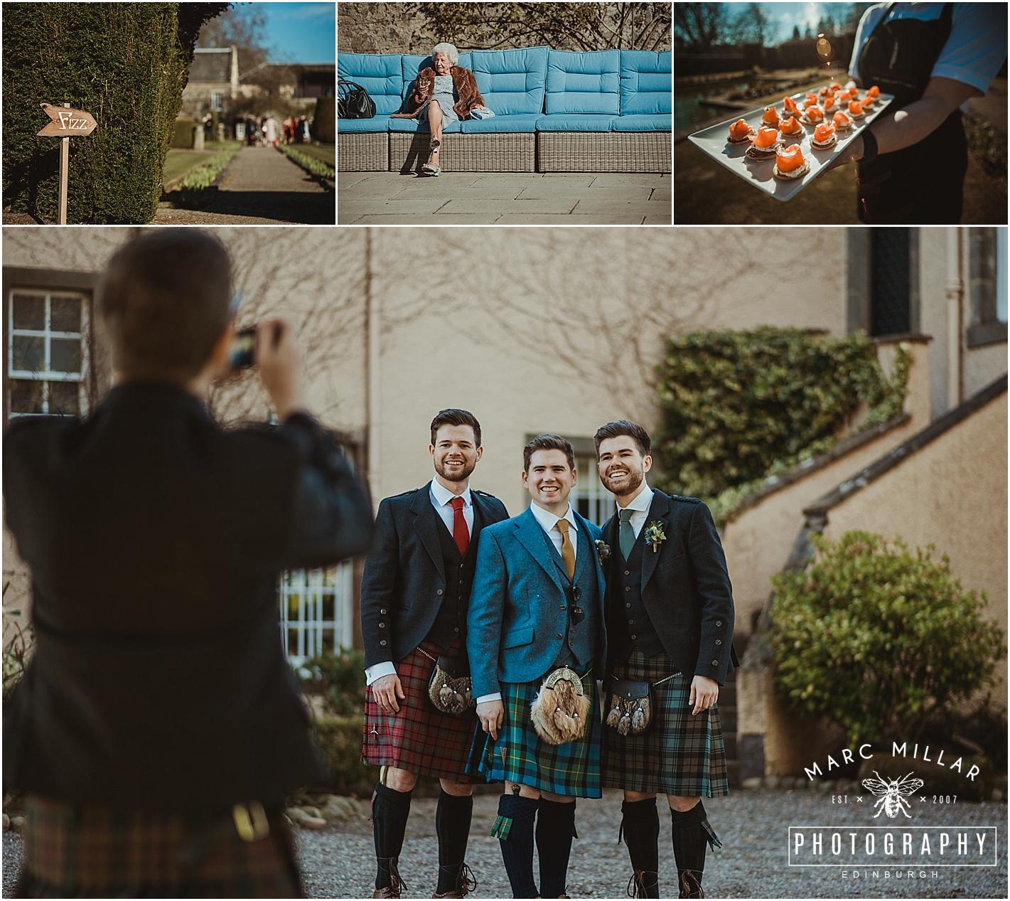 Myres Castle Wedding Shoot by Marc Millar Photography