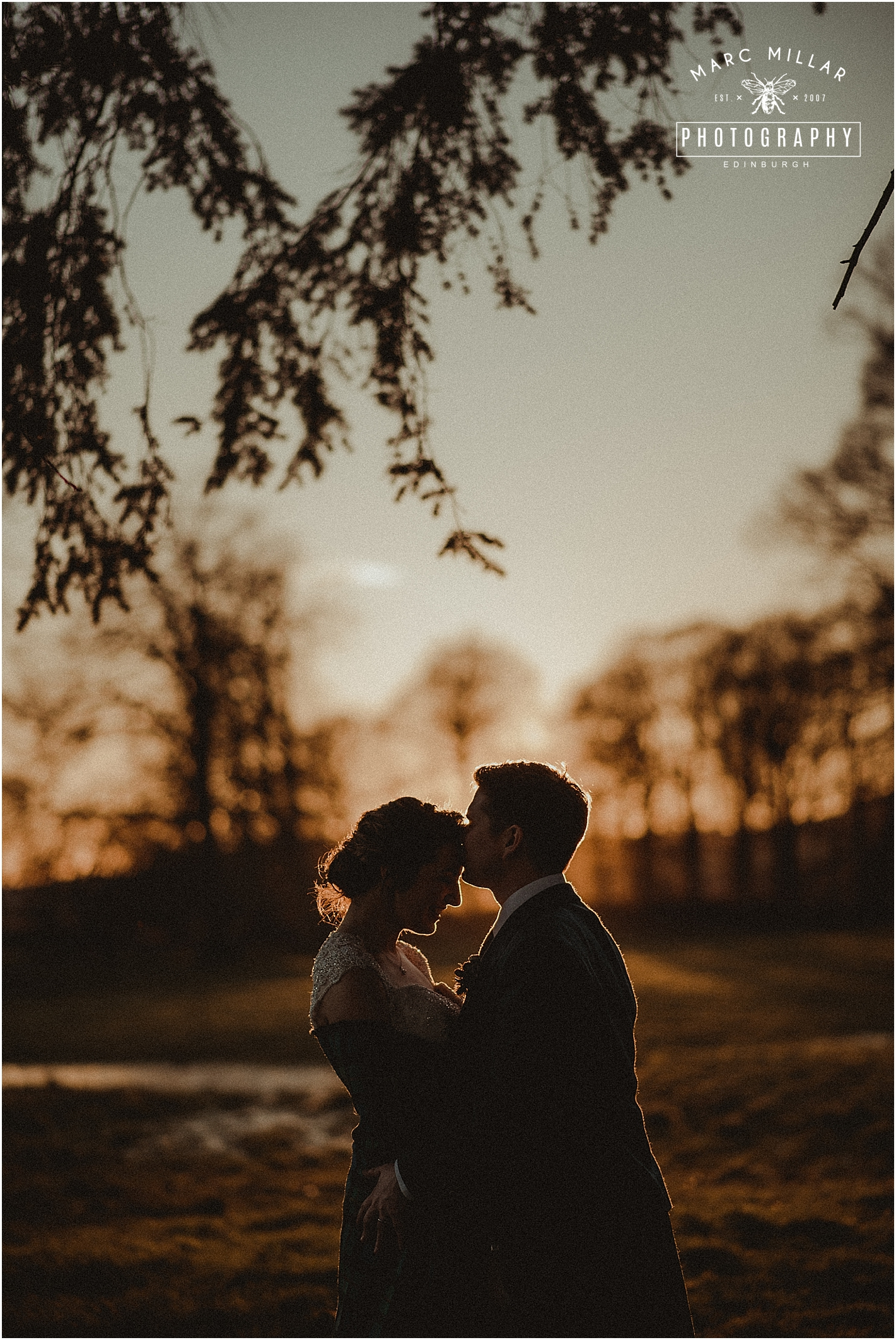 Myres Castle Wedding Shoot by Marc Millar Photography