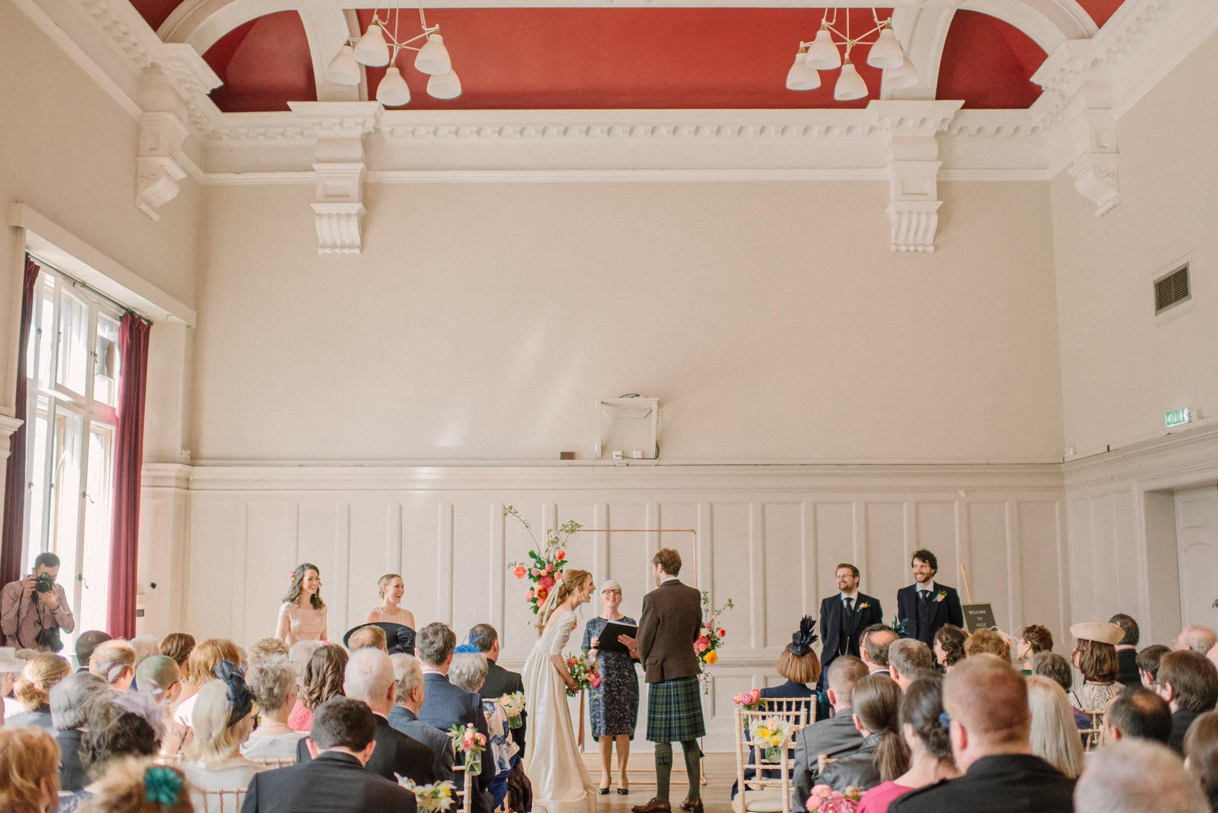 Summerhall Edinburgh Wedding by Marc Millar Photography