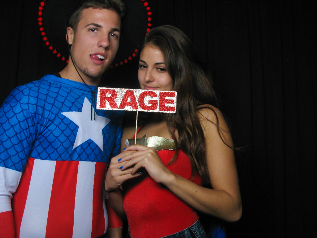 CSULB Alpha Phi Halloween Crush Party Photo Booth 10/24/14