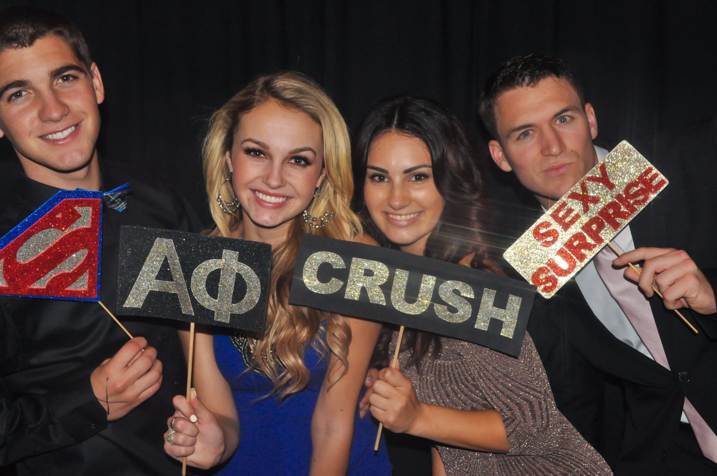 CSULB Alpha Phi Formal Photo Booth 12/05/14
