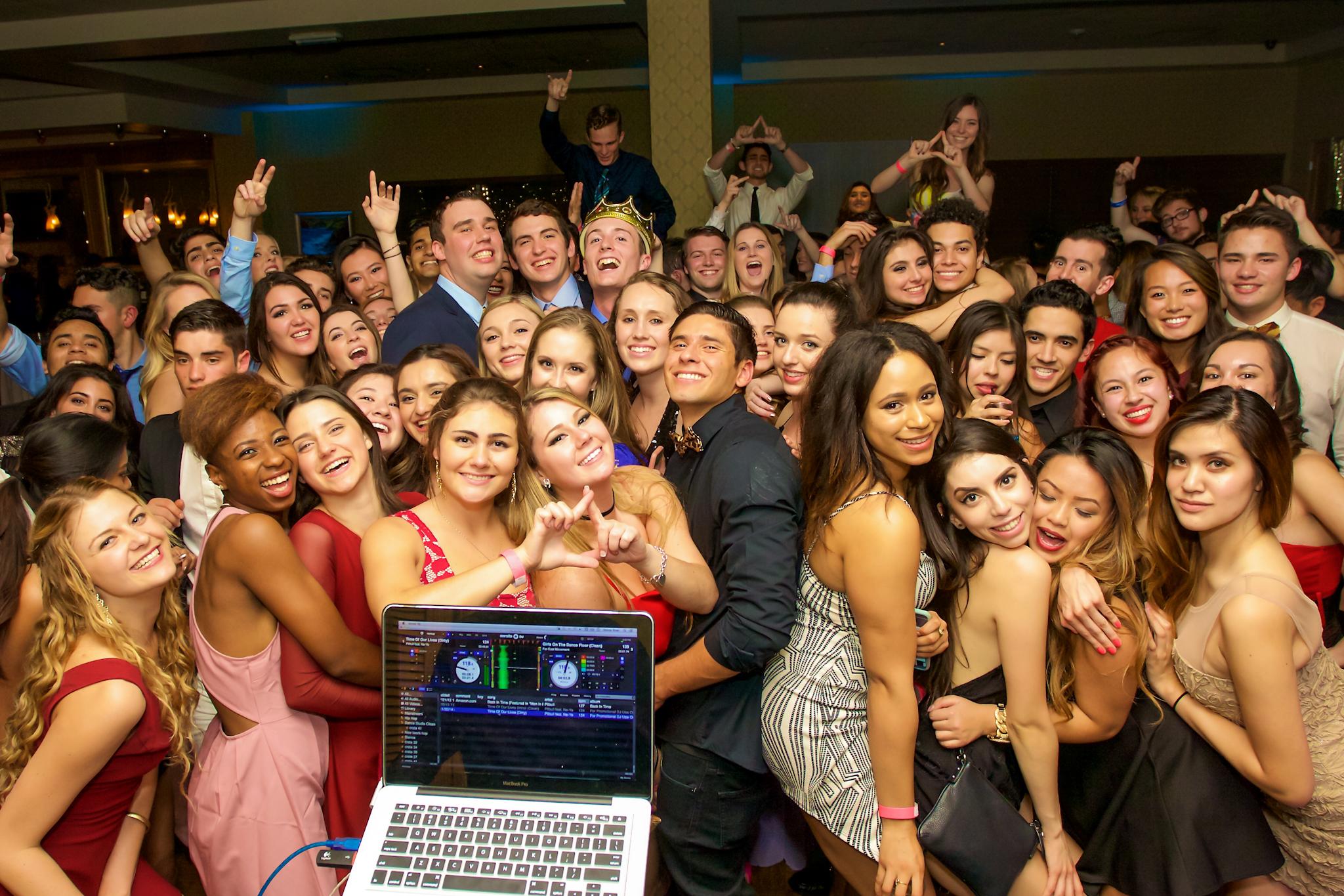 UCI Delta Delta Delta Crush Party 02/27/15