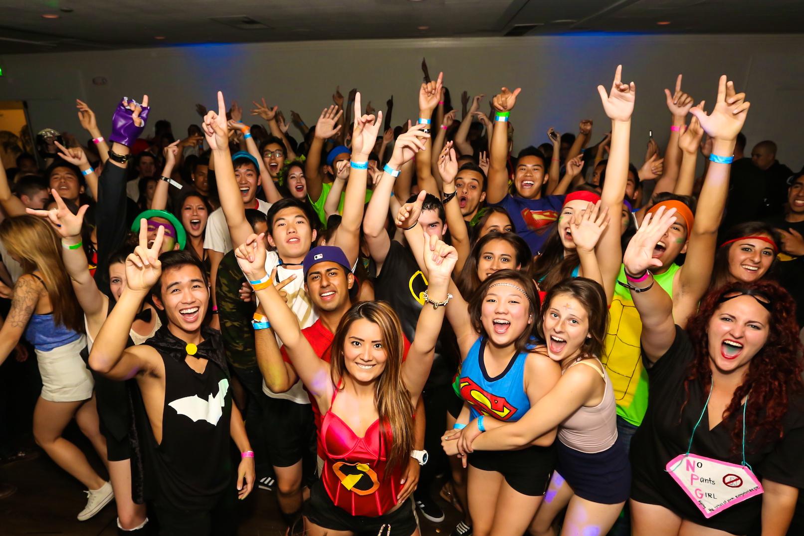 UCI Gamma Phi Beta Superhero Crush Party 05/23/14