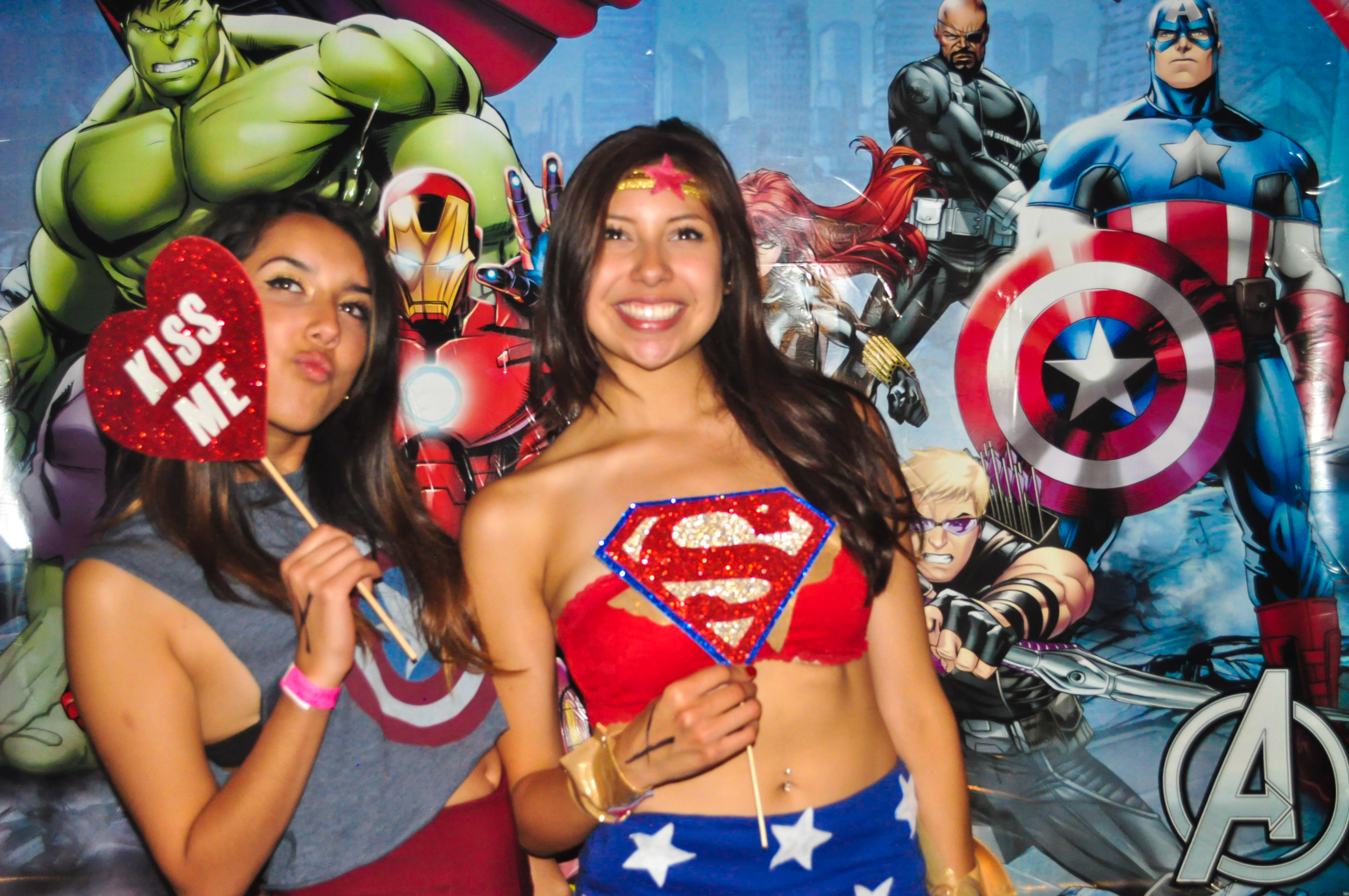 UCI Gamma Phi Beta Superhero Photo Booth 05/23/14
