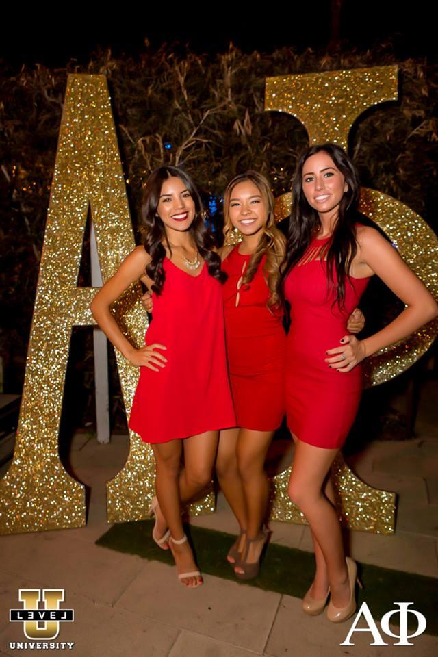 CSULB Alpha Phi Red Dress Ball 11/07/15