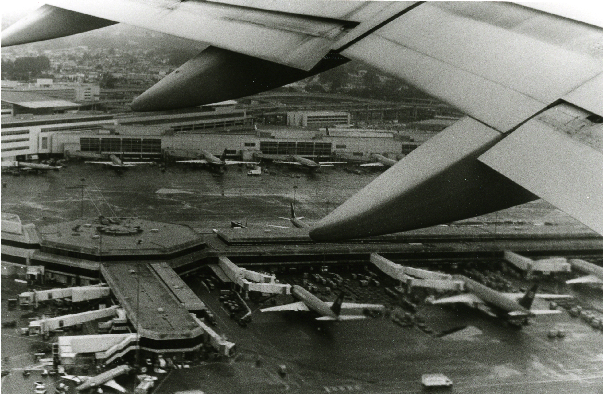 SFO Terminal From Take Off