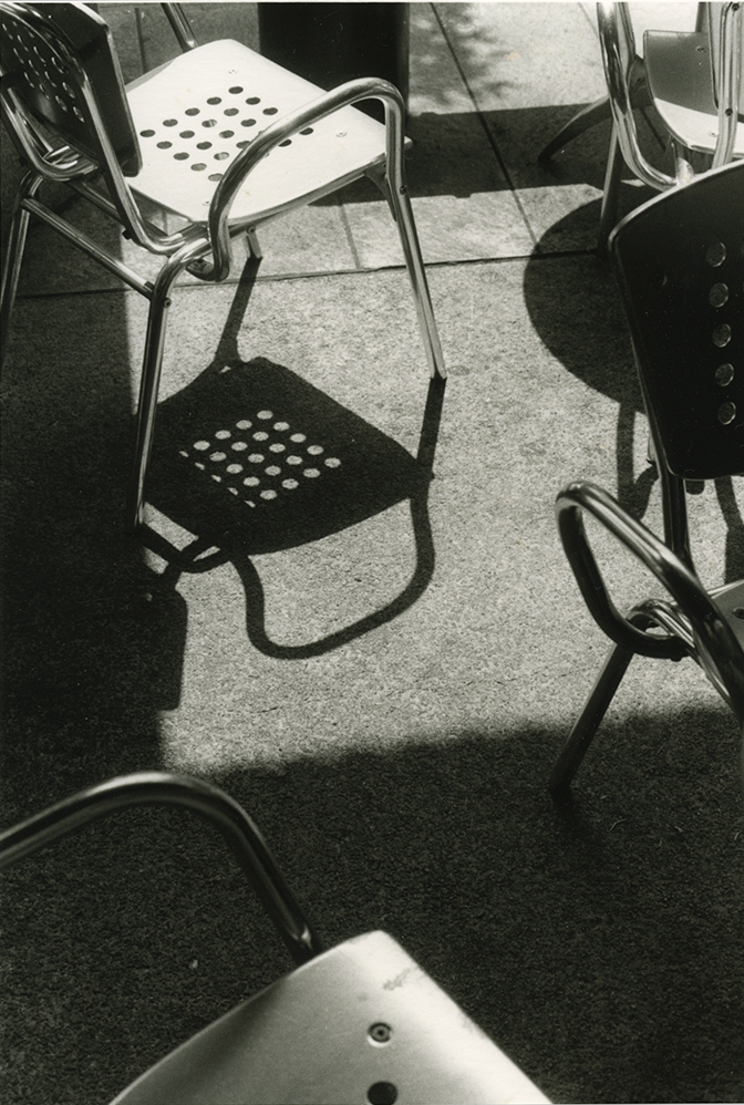 Chair Fragments, SFMOMA