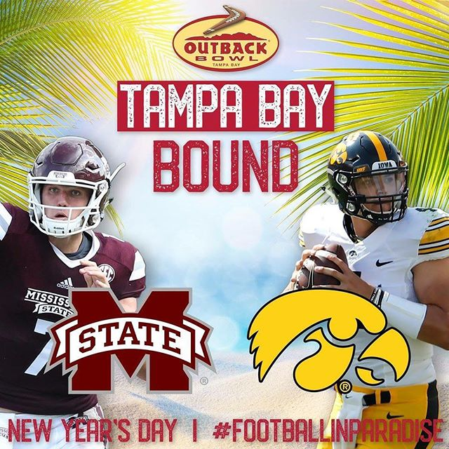 What better way to celebrate the start of 2019 than with your beloved Hawkeyes. This is the last chance to join NYC Hawkeyes for the final football game for the 2018 season. This should be an exciting matchup for the Outback Bowl! Come early to reserve your seats and connect with other local/or visiting Hawkeyes. We'll have bar specials and our Hawkeye menu, free giveaways, our famed 50/50 raffle to support our scholarship fund, the fight song with Hawkeye spirit, and hopefully a bunch of Touchdown shots and more!  Kick off is at noon!  We'll see you soon!!!