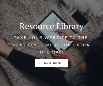Get access to our resource library and learn how you can customize your website with or without any code.