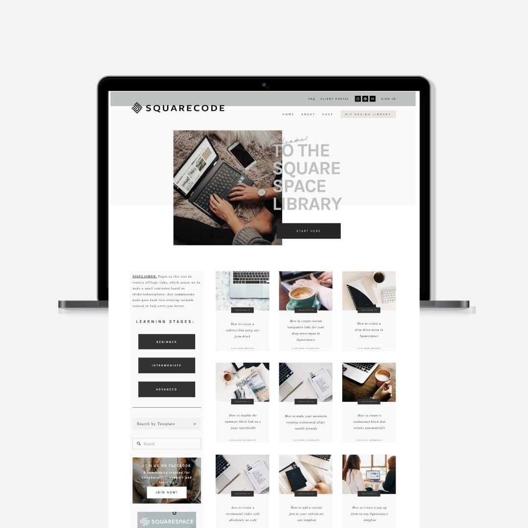 Squarespace-Design-Library-for-the-DIY-Creatives