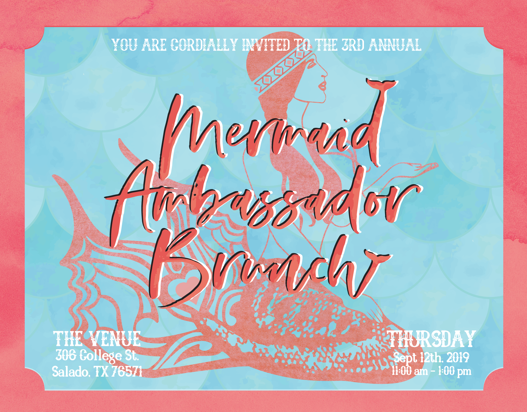 MermaidBrunchInvite