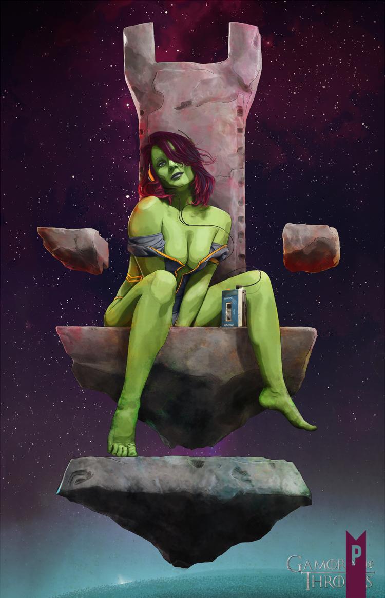 Naked gamora Gamora Pics