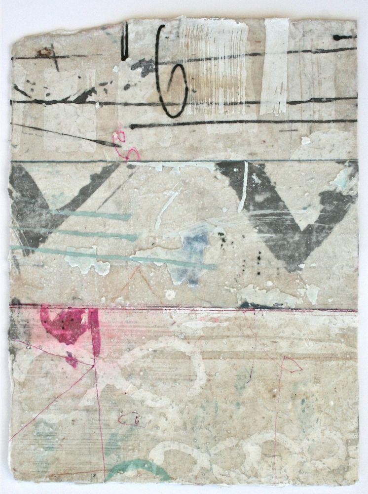 graphics  mixed media / paper  18 x 12