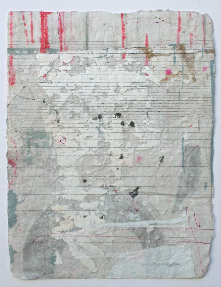 shard  mixed media / paper  14 x 12