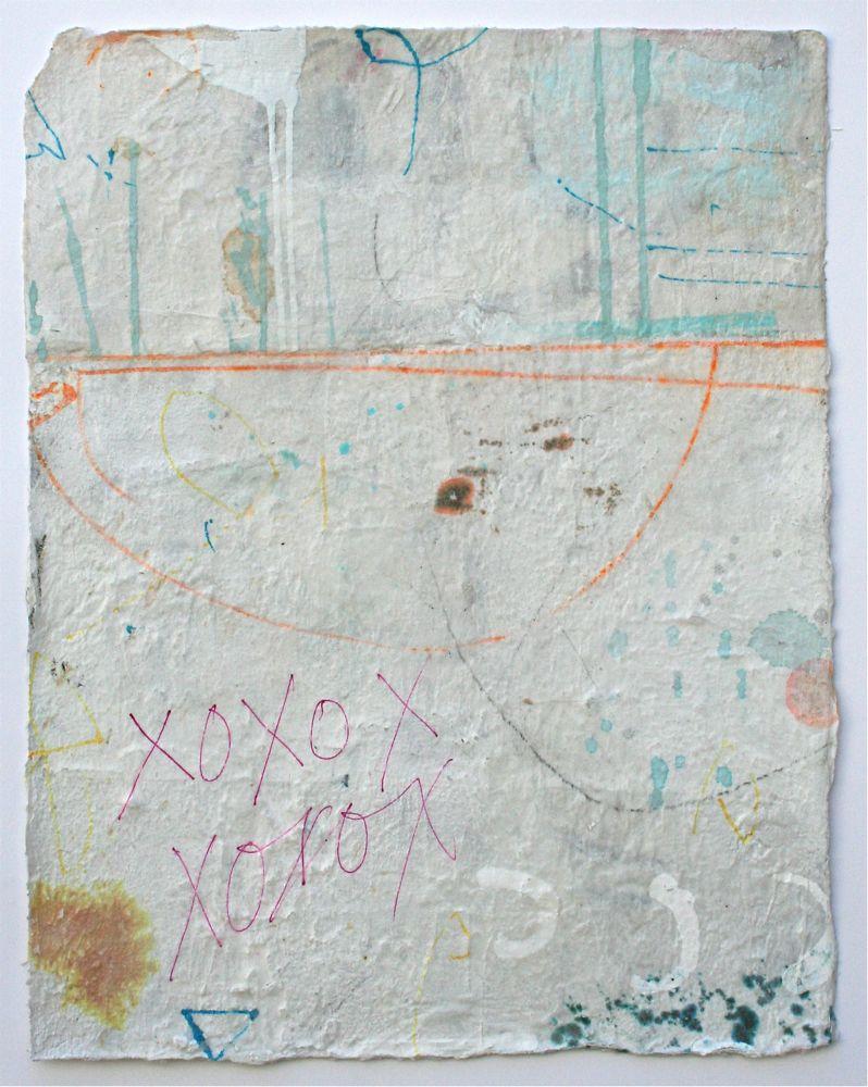 agape  mixed media / paper  17 x 13