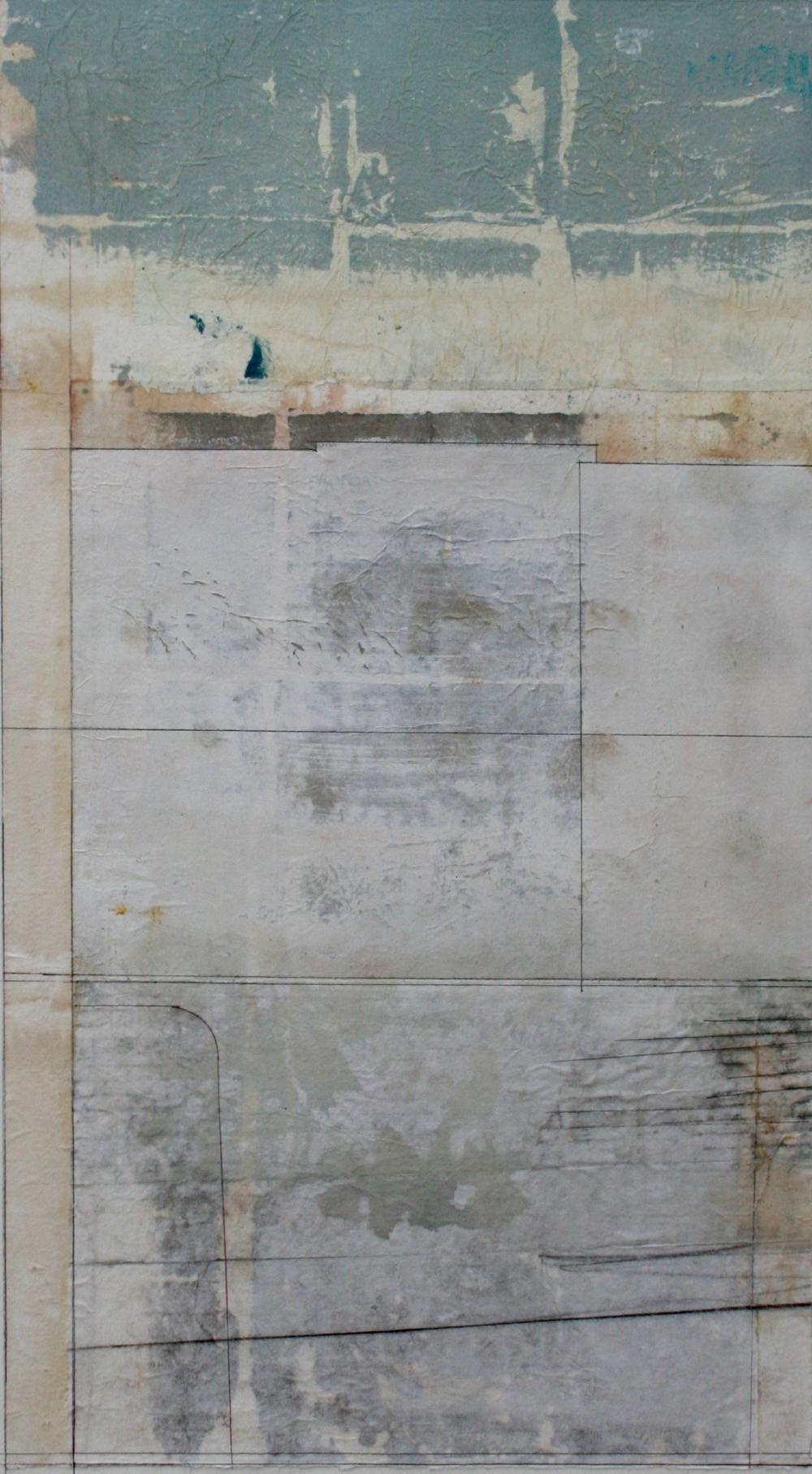 kiva  mixed media on paper  40 x 26  sold  .  .